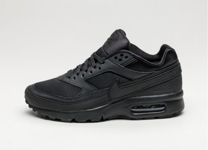 Женские кроссовки Nike Wmns Air Max BW SE (Black / Black - White) | Интернет-магазин Sole