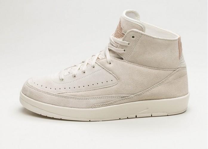 Женские кроссовки Nike Air Jordan 2 Retro Decon (Sail / Sail - Bio Beige)   Интернет-магазин Sole