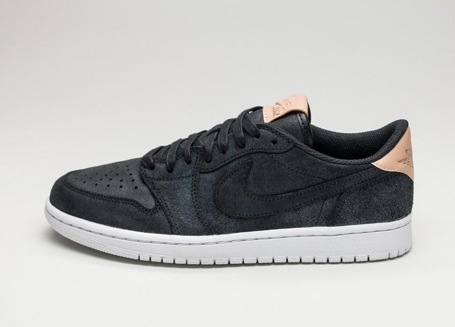2fdbf9589dc6 Женские кроссовки Nike Air Jordan 1 Retro Low OG Premium (Black ...