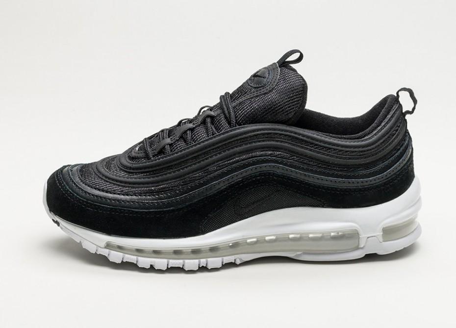 cc1ce7624 Женские кроссовки Nike Air Max 97 (Black / Black - White) - Women ...
