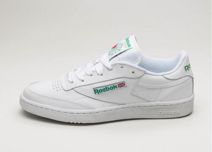Женские кроссовки Reebok Club C 85 (White / Green) - Women - Sneaker | Интернет-магазин Sole
