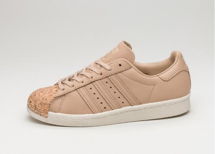 Женские кроссовки adidas Superstar 80s W *Cork* (Pale Nude / Pale Nude / Off White) - Women - Sneaker | Интернет-магазин Sole