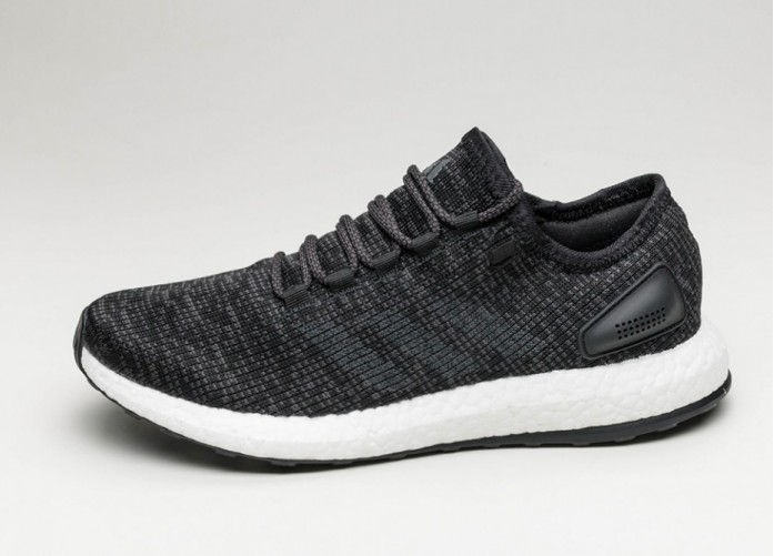 Женские кроссовки adidas PureBoost (Core Black / Solid Grey / Core Black) - Women - Sneaker   Интернет-магазин Sole