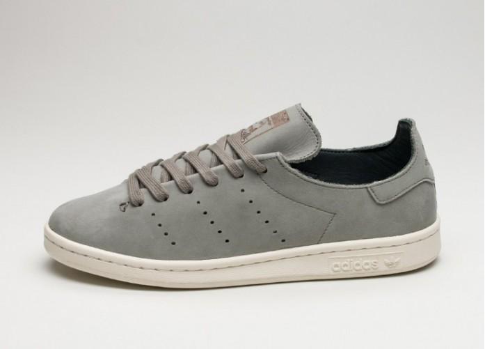 Женские кроссовки adidas Stan Smith Lea Sock (Trace Cargo / Trace Cargo / Off White) - Women - Sneaker | Интернет-магазин Sole