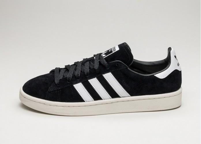 Женские кроссовки adidas Campus (Core Black / Ftwr White / Chalk White) - Women - Sneaker | Интернет-магазин Sole