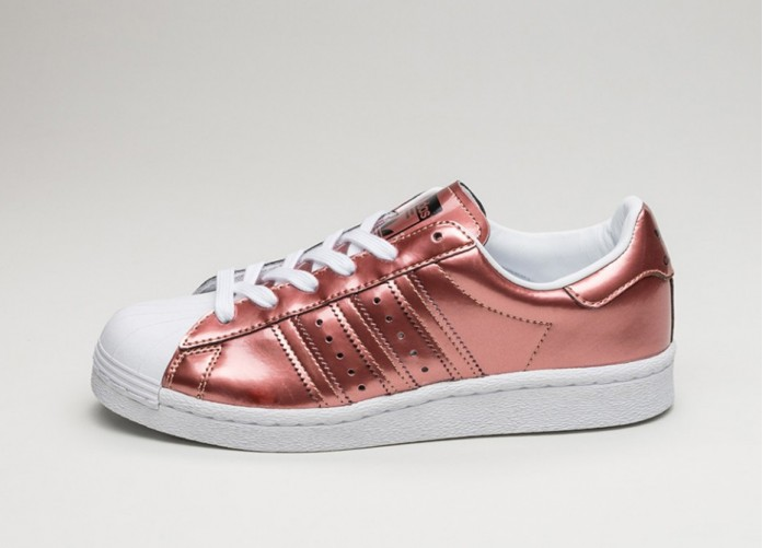 Женские кроссовки adidas Superstar Boost W (Copper Metallic / Copper Metallic / Ftwr White) - Women - Sneaker | Интернет-магазин Sole