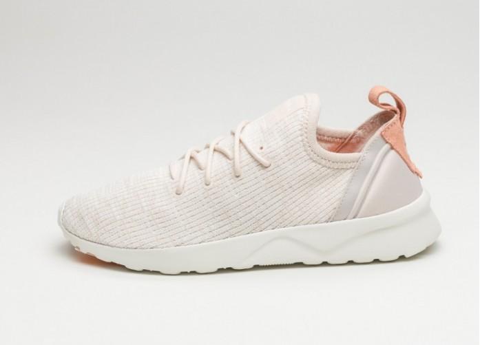 Женские кроссовки adidas ZX Flux ADV Virtue W (Clear Brown / Off White / Sunglow) - Women - Sneaker   Интернет-магазин Sole