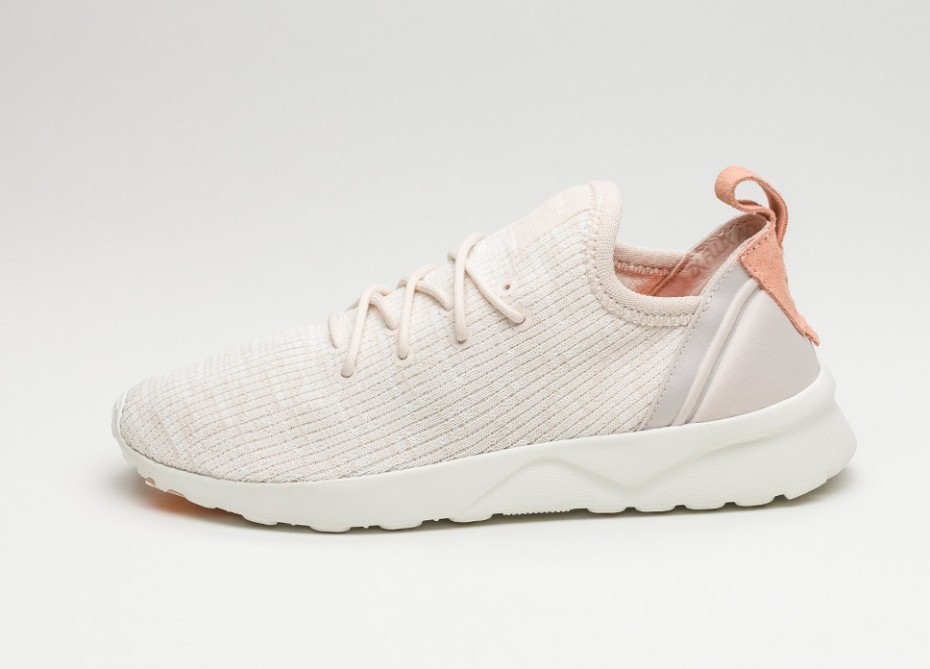 new style ac468 89b75 Женские кроссовки adidas ZX Flux ADV Virtue W (Clear Brown / Off White /  Sunglow) - Women - Sneaker