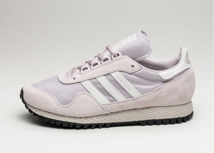 Женские кроссовки adidas New York (Ice Purple / Vintage White / Core Black) - Women - Sneaker | Интернет-магазин Sole