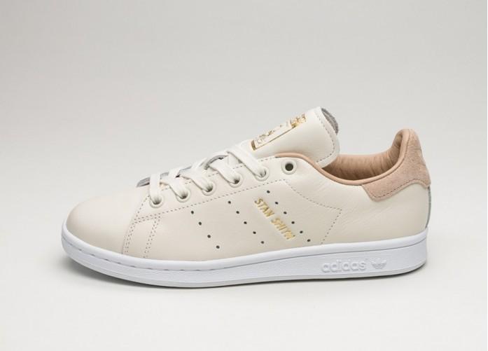 Женские кроссовки adidas Stan Smith W (Off White / Off White / St Pale Nude) - Women - Sneaker | Интернет-магазин Sole