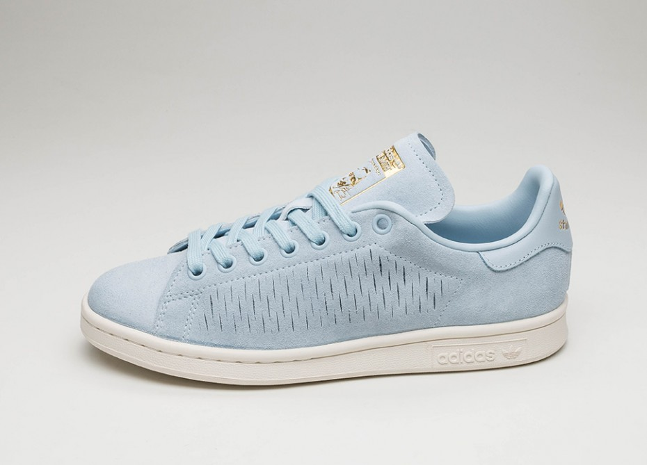 huge discount 357a0 a11f1 Женские кроссовки adidas Stan Smith W (Easy Blue   Easy Blue   Chalk White)