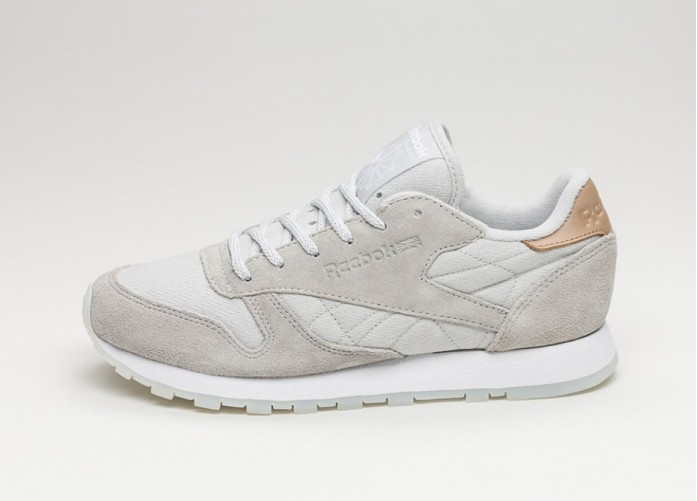 Женские кроссовки Reebok Classic Leather *Sea Worn Pack* (Skull Grey / White) - Women - Sneaker | Интернет-магазин Sole