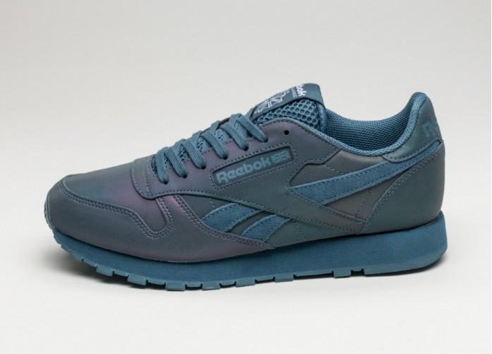 Женские кроссовки Reebok Classic Leather PRS (Brave Blue / White) - Women - Sneaker | Интернет-магазин Sole