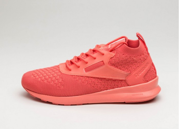 Женские кроссовки Reebok Zoku Runner Ultraknit IS (Fire Coral / Stellar Pink) - Women - Sneaker | Интернет-магазин Sole
