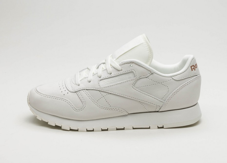 4748bd9b423 Женские кроссовки Reebok Classic Leather FBT Suede (White   Rose Gold) -  Women -