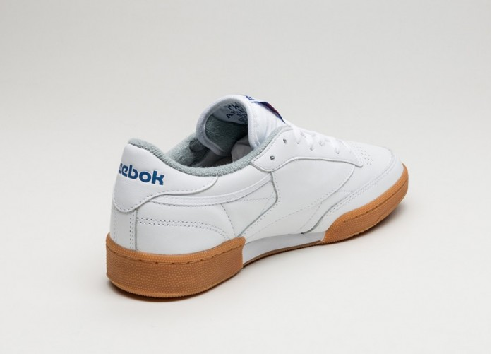 Женские кроссовки Reebok Club C 85 Gum (White / Reebok Royal / Flat Grey) - Women - Sneaker | Интернет-магазин Sole