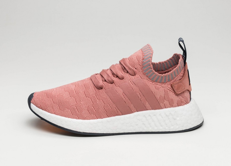 Женские кроссовки adidas NMD R2 PK W (Raw Pink   Raw Pink   Grey Three 97c33ad3782