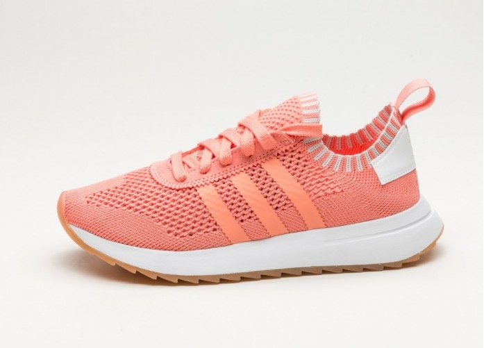 Женские кроссовки adidas FLB_Runner W PK (Semi Flash Orange / Semi Flash Orange / Ftwr White) - Women - Sneaker | Интернет-магазин Sole
