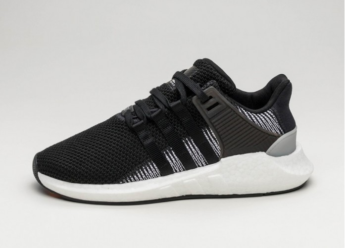 Женские кроссовки adidas Equipment Support 93/17 (Core Black / Core Black / Ftwr White) - Women - Sneaker | Интернет-магазин Sole