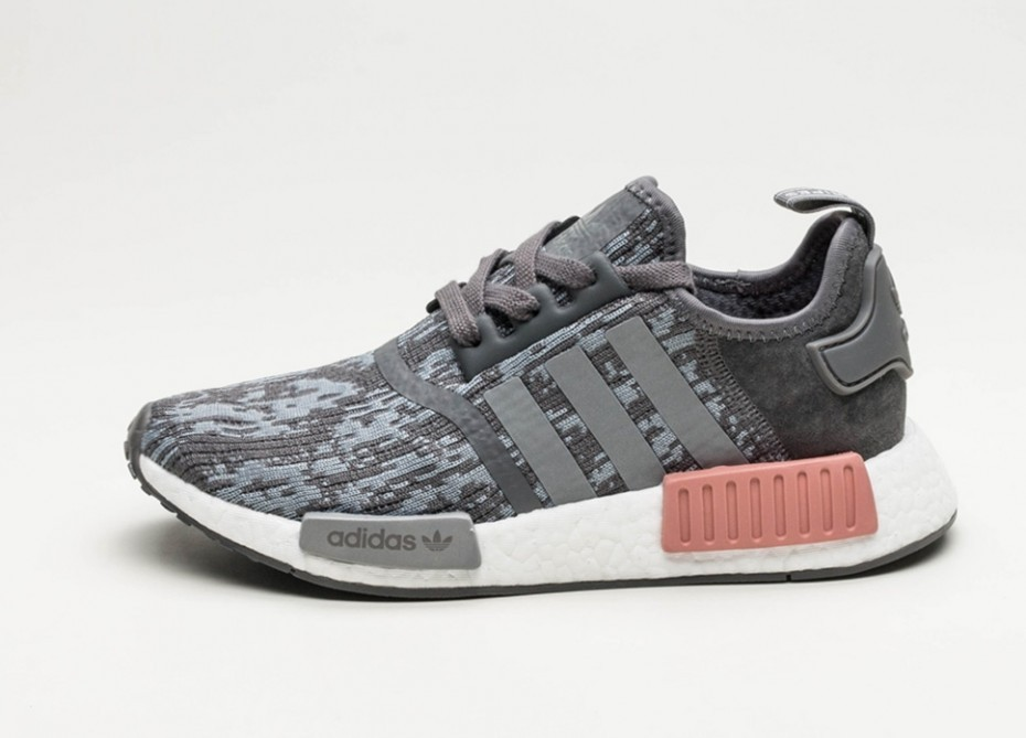 purchase cheap 137ad 9a453 Женские кроссовки adidas NMD R1 W (Grey Five / Grey Three / Raw Pink) -  Women - Sneaker