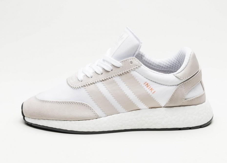 new style 7c0b8 1bafb Женские кроссовки adidas Iniki Runner (Ftwr White  Pearl Grey  Core Black)  -