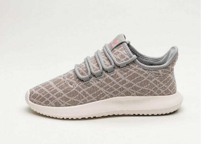 Женские кроссовки adidas Tubular Shadow W (Solid Grey / Solid Grey / Raw Pink) - Women - Sneaker | Интернет-магазин Sole
