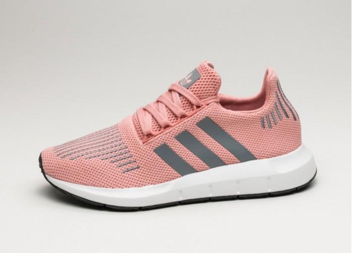 Женские кроссовки adidas Swift Run W (Trace Pink / Grey Three / Crystal White) - Women - Sneaker   Интернет-магазин Sole