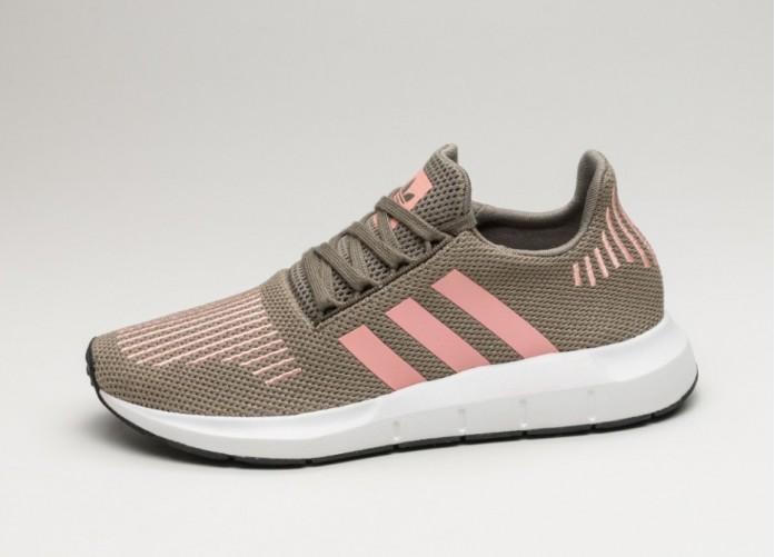 Женские кроссовки adidas Swift Run W (Trace Cargo / Trace Pink / Crystal White) - Women - Sneaker | Интернет-магазин Sole