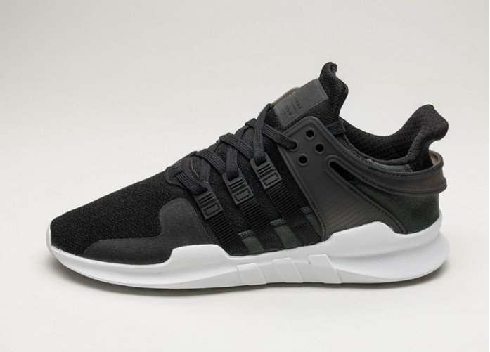 Женские кроссовки adidas Equipment Support ADV (Core Black / Core Black / Ftwr White) - Women - Sneaker | Интернет-магазин Sole