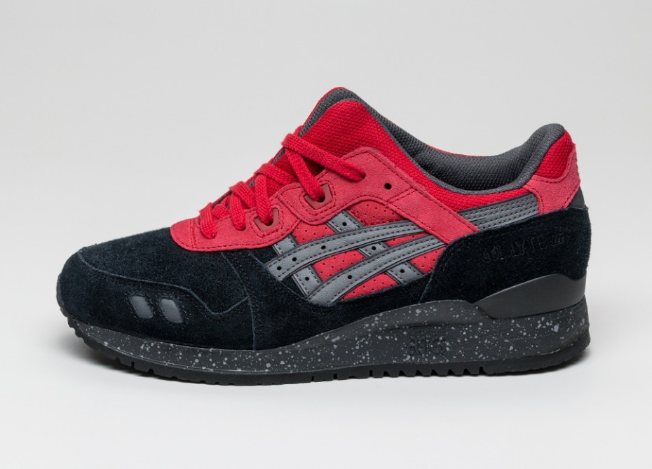 wholesale dealer 80ebd 79c65 Женские кроссовки Asics Gel-Lyte III Christmas Pack *Bad Santa* (Black /  Red)