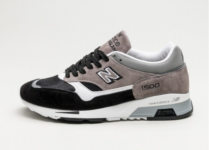 Женские кроссовки New Balance M1500KSG *Made in England* (Grey / Black) - Women - Sneaker   Интернет-магазин Sole