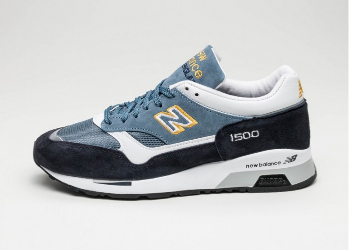 Женские кроссовки New Balance M1500NBW *Made in England* (Navy / Yellow) - Women - Sneaker | Интернет-магазин Sole