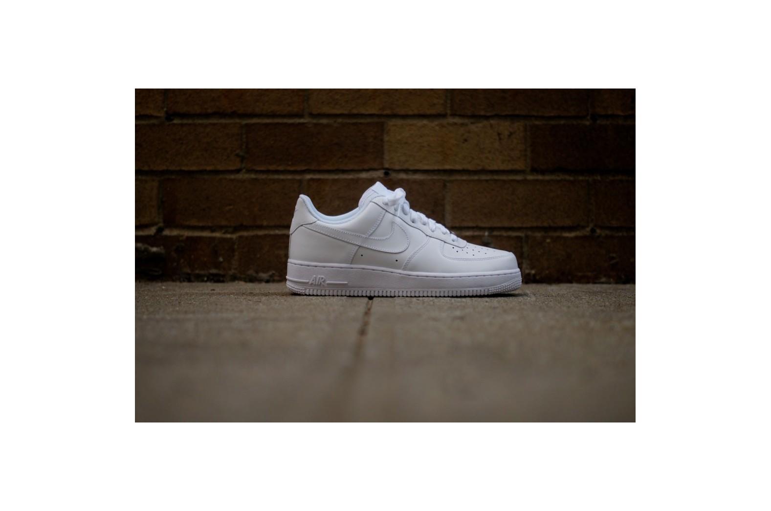 d207d48e5bd3 Мужские кроссовки Nike Air Force 1 Low - White   White   Интернет-магазин  Sole