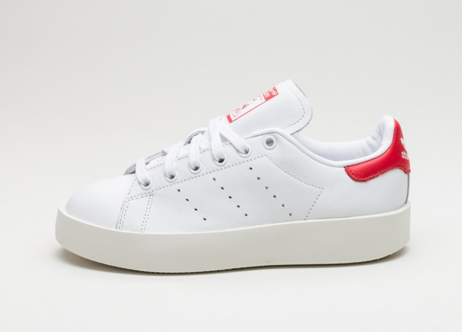52b4b746be4d Женские кроссовки adidas Stan Smith Bold W (Ftwr White / Ftwr White /  Collegiate Red