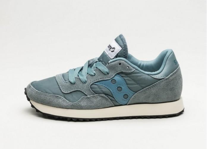 Женские кроссовки Saucony DXN Trainer Vintage (Aqua / Grey) - Women - Sneaker | Интернет-магазин Sole