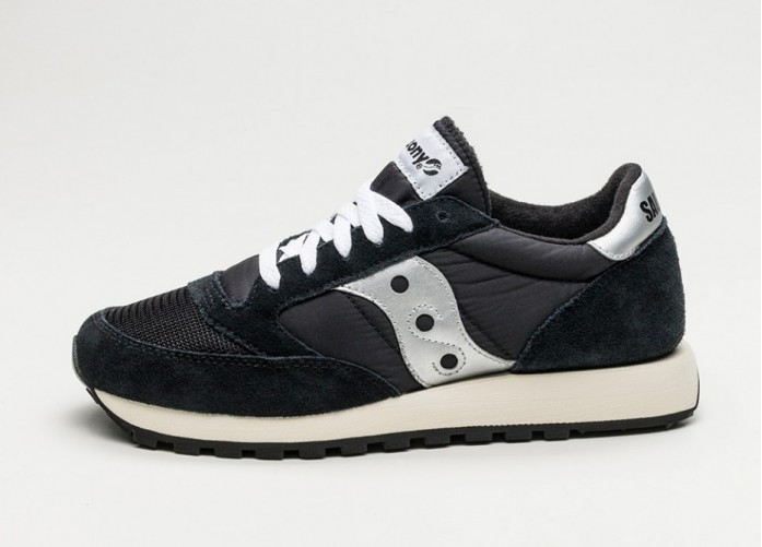 Женские кроссовки Saucony Jazz Original Vintage (Black / White) - Women - Sneaker | Интернет-магазин Sole