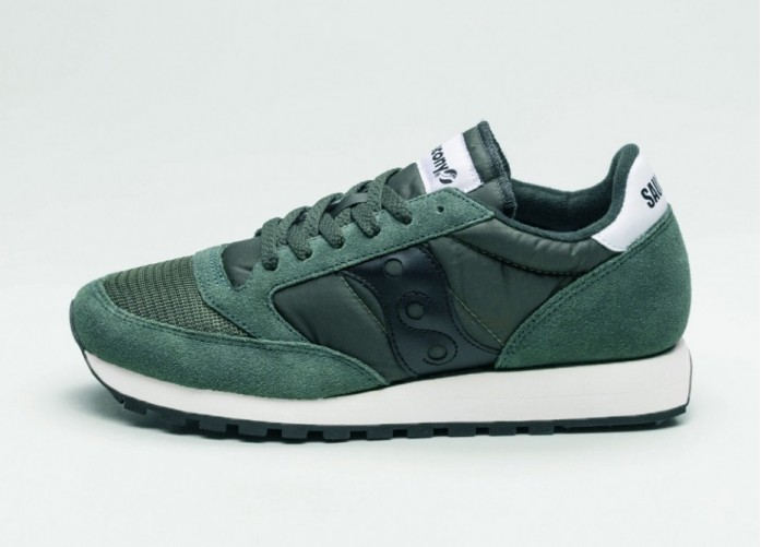 Женские кроссовки Saucony Jazz Original Vintage (Dark Green / Black) - Women - Sneaker | Интернет-магазин Sole
