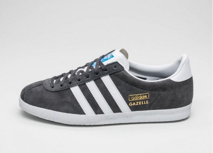 Женские кроссовки adidas Gazelle OG (Dgh Solid Grey / Ftwr White / Dark Grey) | Интернет-магазин Sole