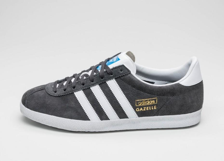 outlet store 87122 31886 Женские кроссовки adidas Gazelle OG (Dgh Solid Grey  Ftwr White  Dark Grey )