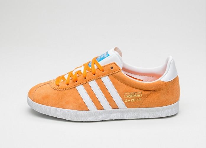 Мужские кроссовки adidas Gazelle OG (Bright Orange/ Ftwr White / Bright Orange) | Интернет-магазин Sole