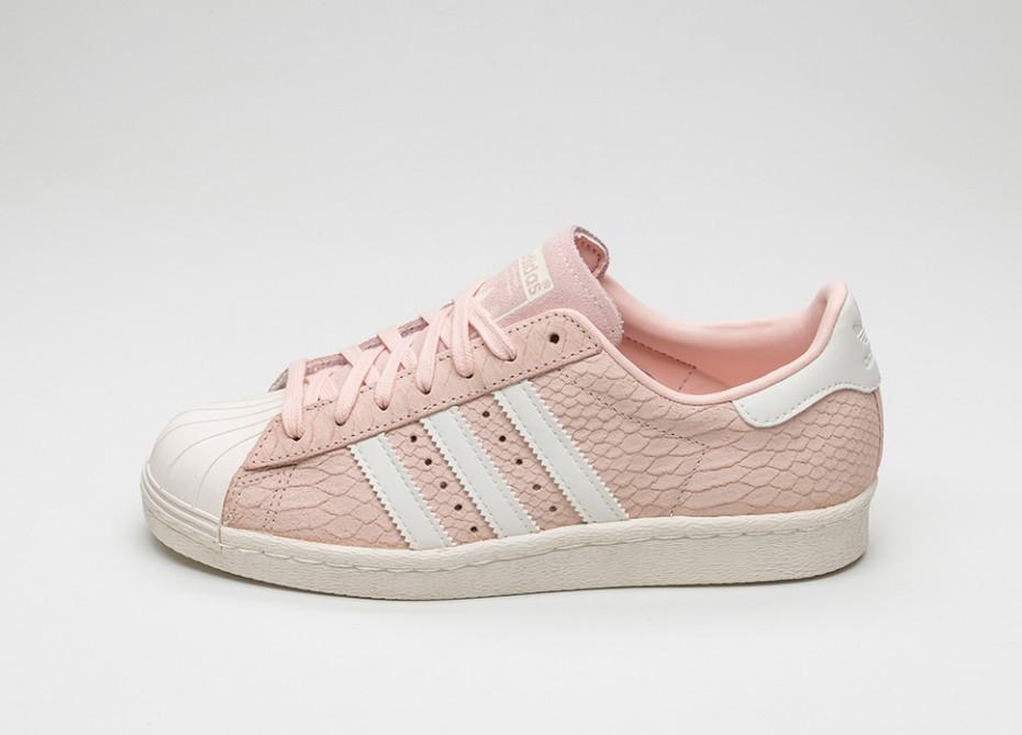 adidas superstar off white blush pink