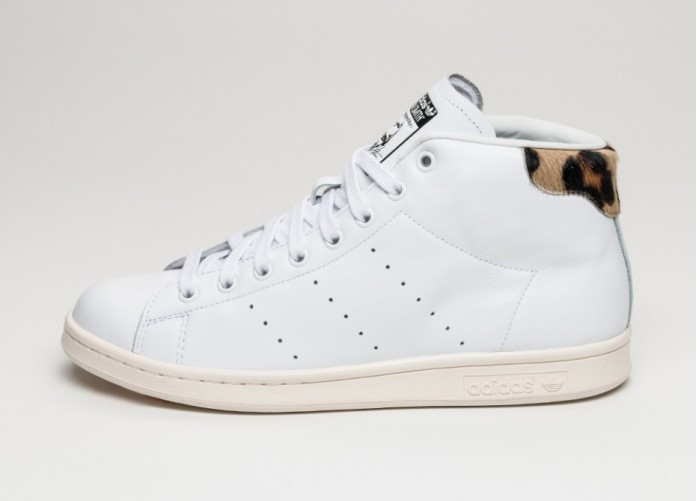 Женские кроссовки adidas Stan Smith Mid (Ftwr White / Ftwr White / Chalk White) | Интернет-магазин Sole
