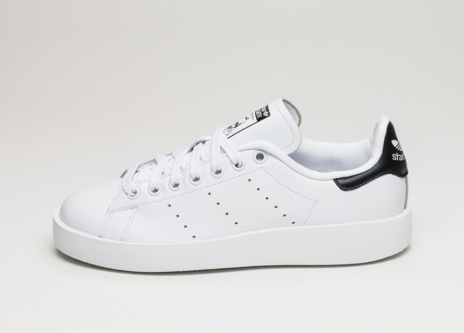 aa939ef9634785 Женские кроссовки adidas Stan Smith Bold (Ftwr White / Ftwr White / Core  Black)