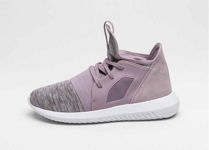 Женские кроссовки adidas Tubular Defiant W (Blanch Purple / Blanch Purple / Core White) | Интернет-магазин Sole
