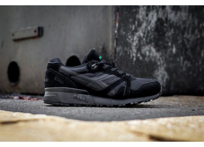 Мужские кроссовки Diadora N9000 NYL - Black/Black | Интернет-магазин Sole