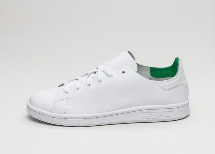 Женские кроссовки adidas Stan Smith Nuude W (Ftwr White / Ftwr White / Green) | Интернет-магазин Sole