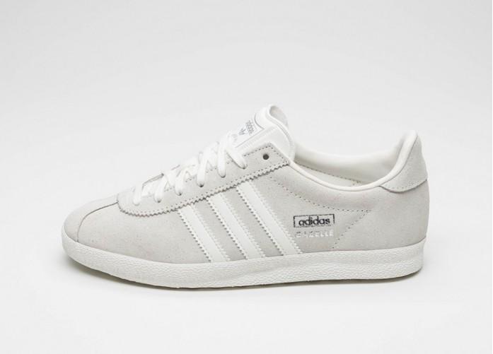 Женские кроссовки adidas Gazelle OG W (Off White / Off White / Silver Metallic) | Интернет-магазин Sole