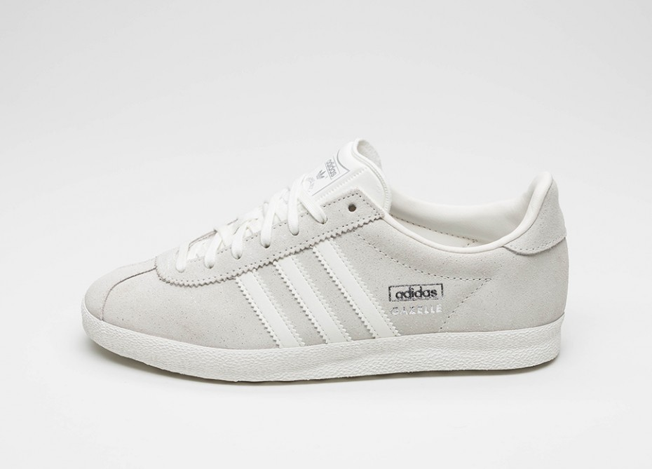 buy online 12dd4 fbcfb Женские кроссовки adidas Gazelle OG W (Off White   Off White   Silver  Metallic)