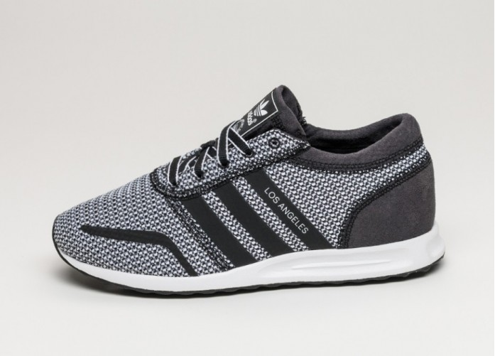 Женские кроссовки adidas Los Angeles W (Core Black / Core Black / Ftwr White)   Интернет-магазин Sole