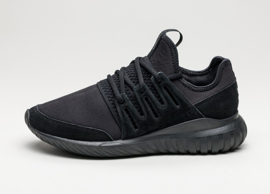 new styles 87d38 b8ea0 Женские кроссовки adidas Tubular Radial (Core Black / Core Black / Dark  Grey)